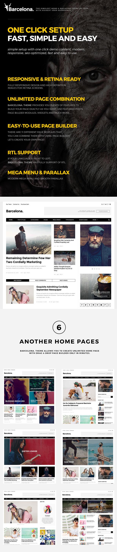 Barcelona. - Clean News & Magazine WordPress Theme - 1